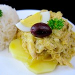 Aji de Gallina (Peruvian Chicken Stew)