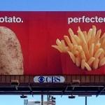 McDonalds Potato Advertisement