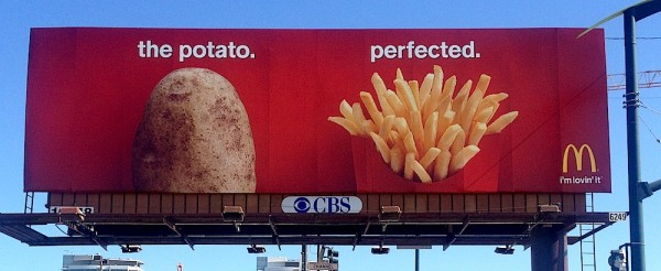 McDonalds Potato Advertisement