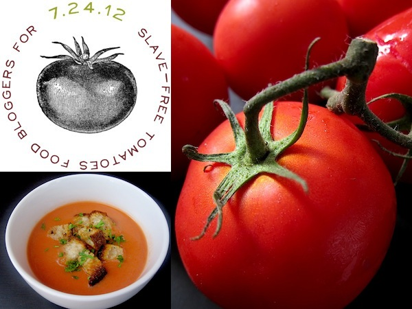 Slave-free Tomatoes Gazpacho