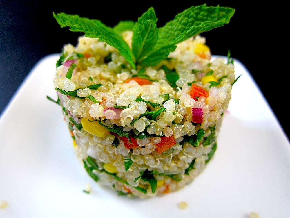 Quinoa tabbouleh pisco trail for Cuisine quinoa