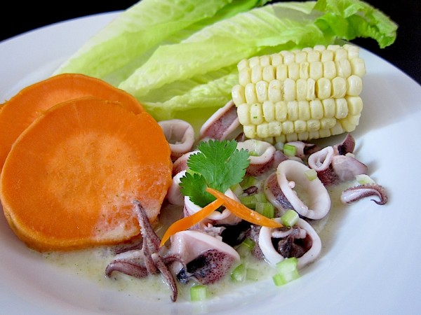 Squid Ceviche