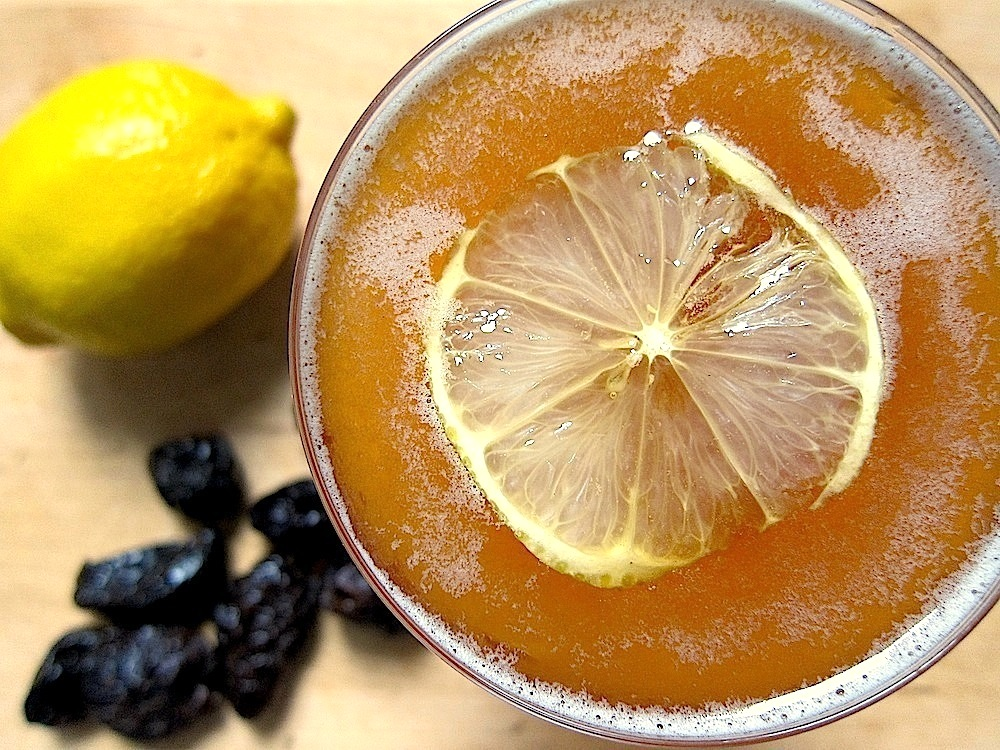 Pisco Prune Punch