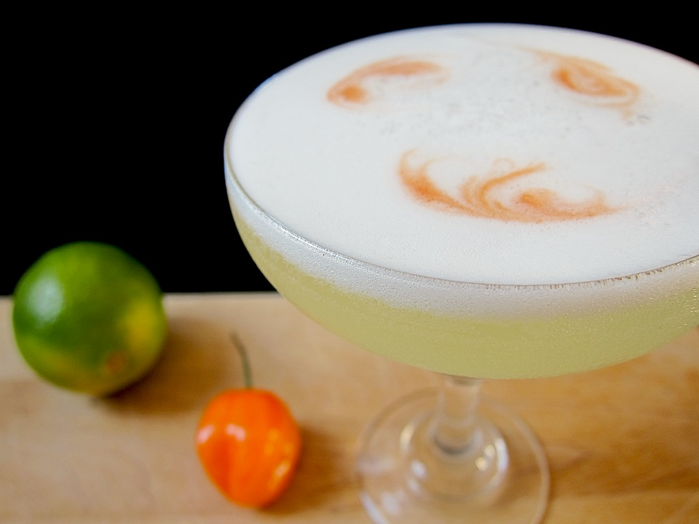 Habanero Pisco Sour
