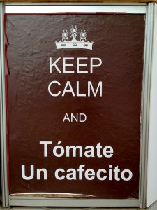 Mistura — Keep Calm and Drink a Little Coffee