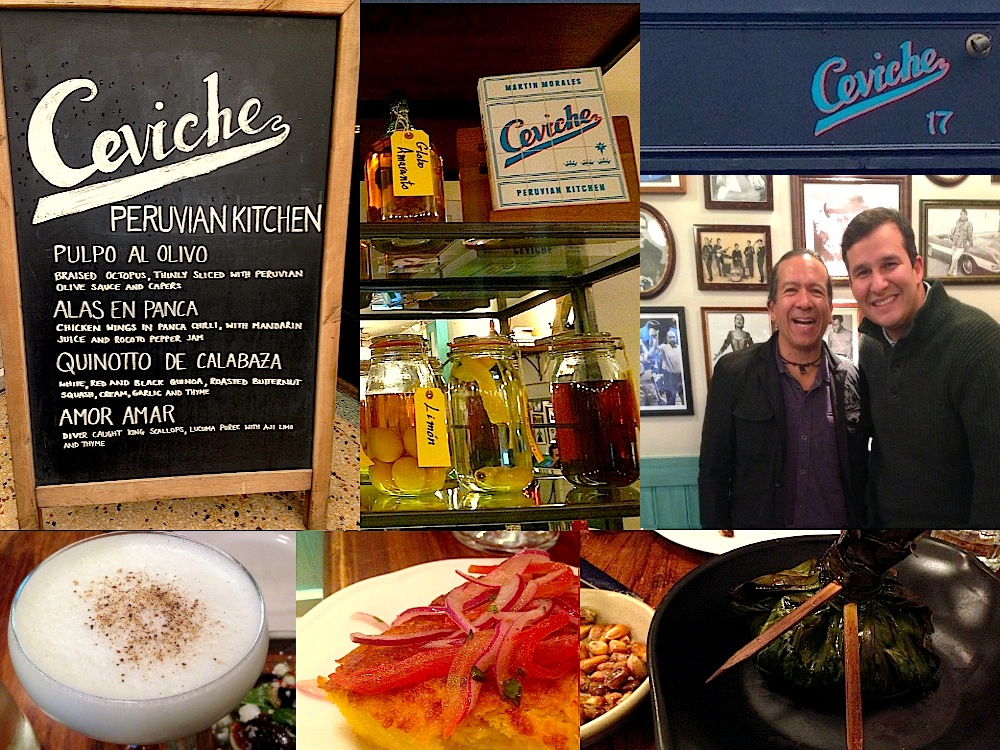 Lunch at Ceviche UK
