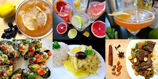 Pisco cocktails and Peruvian dishes from 2013