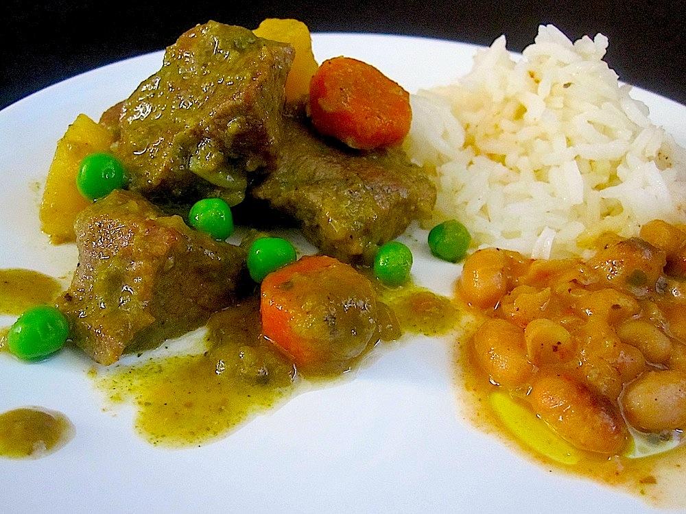 Seco de Cordero —Peruvian Lamb Stew
