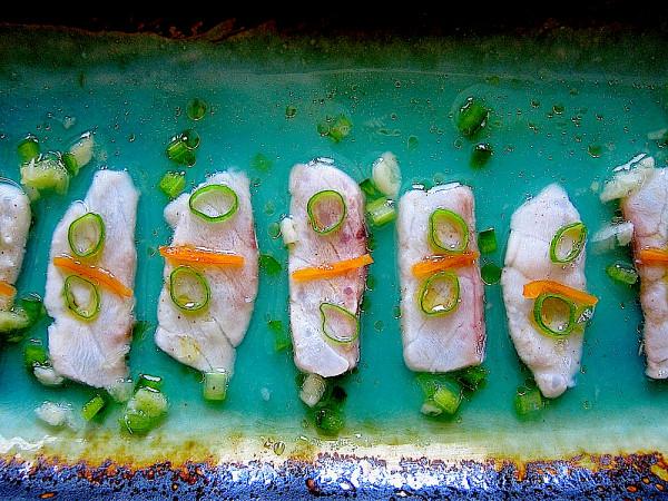 Tiradito Nikkei, Peruvian Sashimi