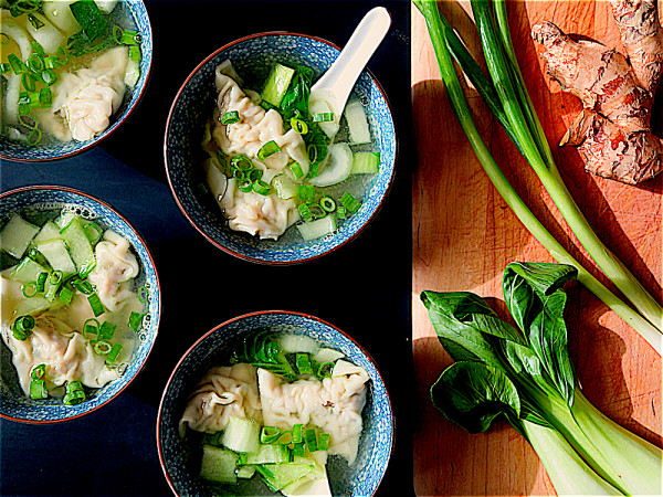 Sopa Wantan Chifa (Wonton Soup)