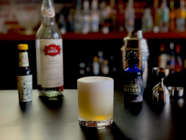 Vegan Pisco Sour