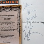 Camino Dinner with Marcus Samuelsson, July 11, 2012