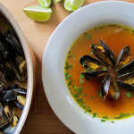 Caldo de Choros (Peruvian Steamed Mussels Soup)