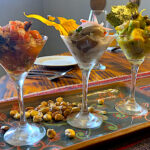 Ceviche Trio at Green Point in Cusco