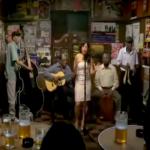 Sara Van singing Cardo ó Ceniza