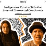 Indigenous Cuisine Conversation for Taste